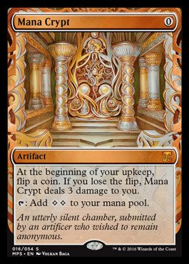 Magic: the Gathering - Mana Crypt (016/054) - Masterpiece Series: Kaladesh & Aether Revolt Inventions - Foil by Magic: the Gathering