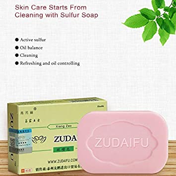 Cleansers 2019 New Drug Bactericidal Sulphur Soap Skin Care Dermatitis Fungus Eczema Anti Bacteria Fungus Shower Bath Washing Soaps