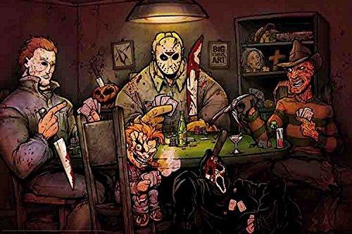 slashers playing poker