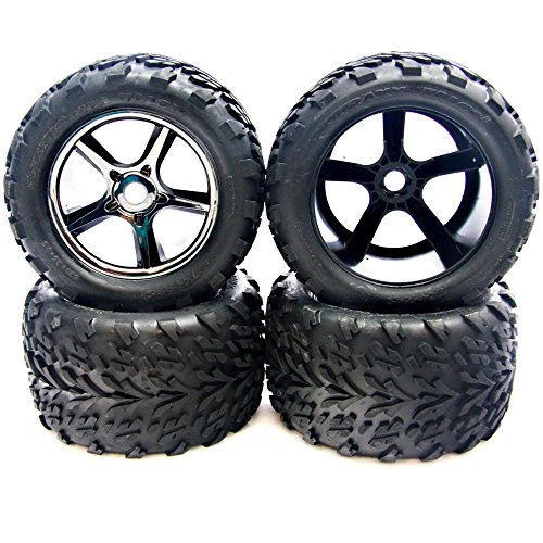Traxxas 1/10 E-Revo Brushless 4 TALON TIRES, INSERTS for sale  Delivered anywhere in USA