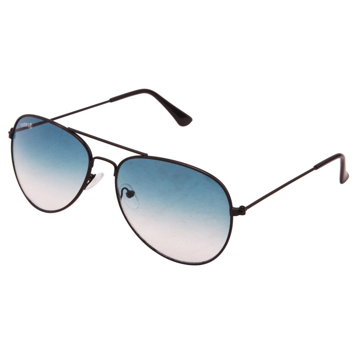 a5cafb47e69 Benour BENAV016 Black Gladiator Aviator Unisex Sunglasses  Amazon.in   Clothing   Accessories