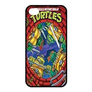 iPhone 4 / iPhone 4s TPU Gel Skin / Cover, Custom TPU iPhone 4g Back Case - TMNT