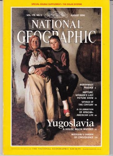National Geographic Magazine, August 1990 (Vol. 178, No. 3)