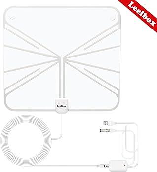 Leelbox HDTV 50 Miles Range Indoor Antenna