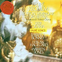 Fauré: Requiem; Songs