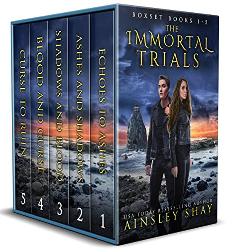 The Immortal Trials: The Complete Series by [Shay, Ainsley]