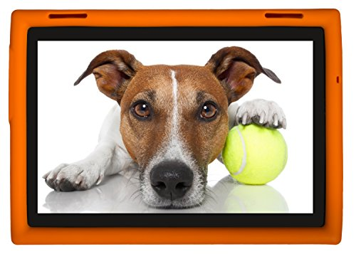 BobjGear Rugged Case for Lenovo Tab 4 10 inch Models TB-X304F TB-X304L TB-X304X (NOT for E10 or Any Other Model) Outrageous Orange
