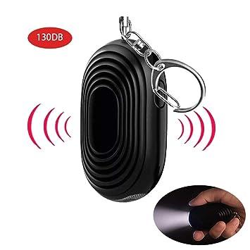 Alarma Personal de Sonido Seguro, 130 dB, Llavero de Alarma ...