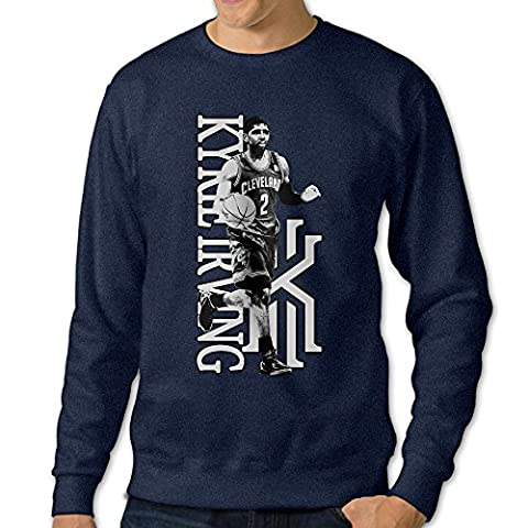101Dog 2# Basketball Player Mens Pullover Sweatshirt Large Navy (New York Rangers Wireless Mouse)