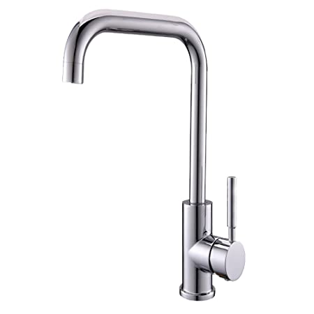 Taps Uk Fantastic Value Single Level Spout Swivel Single Hole Hot