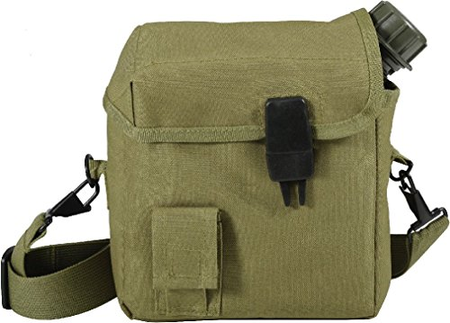 (Military 2 Quart Bladder Enhanced Nylon Canteen Cover Strap)