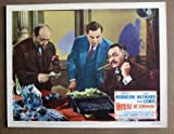 DK23 HOUSE OF STRANGERS Edward G Robinson MINT '49 LC. This is an original lobby card; not a dvd or video. Lobby cards were used to advertise film playing at theater and they measure 11 by 14 inches.