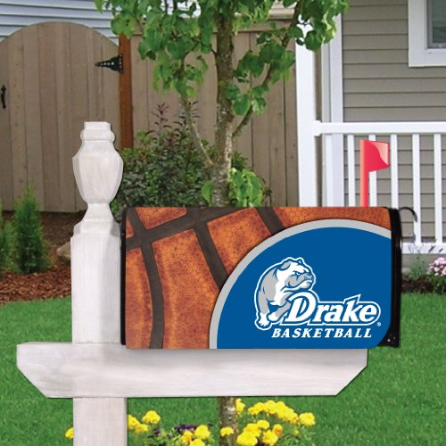VICTORYSTORE.COM Outdoor Mailbox Cover - Drake University, Basketball, Magnetic Mailbox Cover ()
