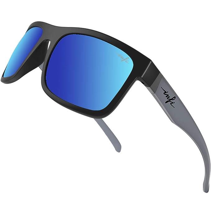Amazon.com: Gafas de sol polarizadas de pesca para hombres y ...