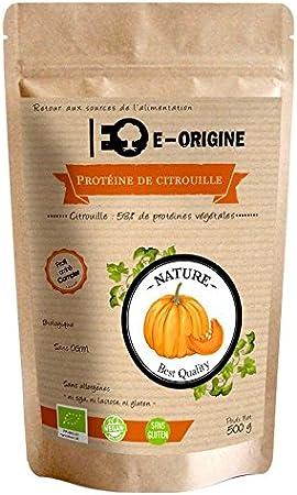 Proteínas de semillas de calabazas Bio/Semillas de calabaza - Proteína Vegan   500 G   Eden origen