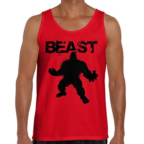 2dff748fb6e3c BEAST - Mode Workout T-Shirt Gym Fitness Muscle Bodybuilding Tank Top lovely