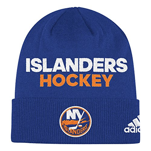 fan products of NHL New York Islanders Adult Men Pro Authentic NHL Locker Room Beanie, One Size, Royal