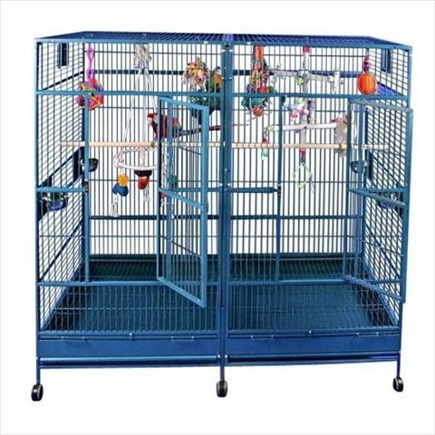 A&E Cage 8040FL Stainless Steel Double Macaw...