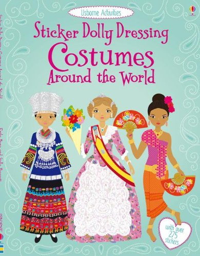 World Literature Costumes (Sticker Dolly Dressing Costumes Around the)