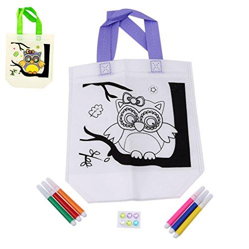HENGSONG Dessin de Paquet Hibou Doodle px4vqprfIw