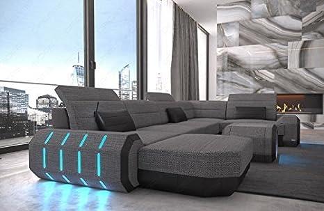 Stoffa arredamento interni sofà in tessuto roma a forma di u tessuto