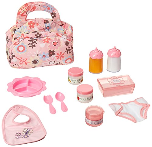 Melissa & Doug Doll Feeding and Changing Accessories