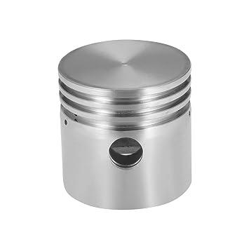 sourcing map Compresor de aire motor pistón aleación de aluminio 51mm diámetro 50mm altura: Amazon.es: Bricolaje y herramientas