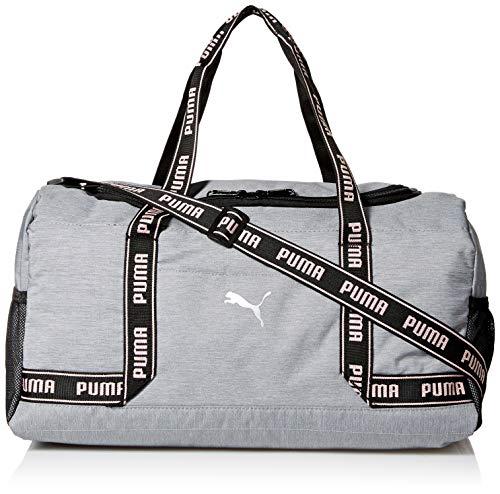 PUMA Women's Commute Duffel, Heather Gray, One Size (Handbag Puma White)