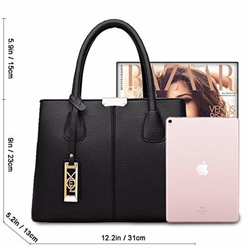 COCIFER Women Top Handle Satchel Handbags Shoulder Bag Tote Purse Messenger Bags by COCIFER (Image #4)