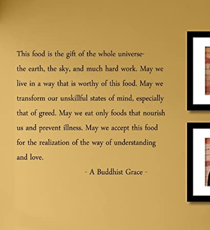 Amazon.com: This food is the gift of the whole universe...A Buddhist ...