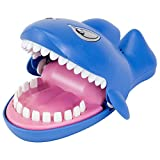 """Snappy Shark Game - Dentis Game - Classic Biting Hand Game-Catch Me Game, Flashing Eyes, Evil Laugh, Hungry Shark - Measures 9"""" long x 5-1/4"""" wide x 4"""" tall"""