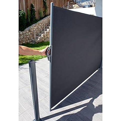 Brise vue rétractable Liso L. 3 x H. 1,60 m: Amazon.fr: Luminaires ...