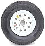 ST225/75R15 Radial Trailer Tire with 15'' White Wheel 5 on 4.50 LR D