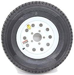 Trailer Tire White Mod Rim ST225/75D15 Load Range D (5 Lug On 4.5\