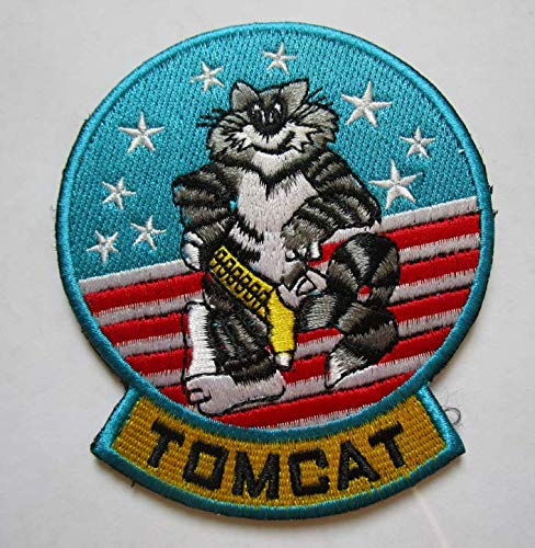 Grumman F-14 Tomcat Military Patch Fabric Embroidered, used for sale  Delivered anywhere in USA