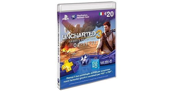 Sony PSN Card - cajas de video juegos y accesorios (20 Eu, IT ...