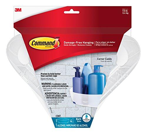 corner shower caddy plastic - 8