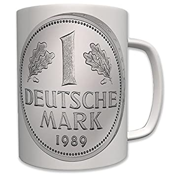 D Mark Tasse Deutsche Mark Geld Münze Eine Sammler Währung Taler