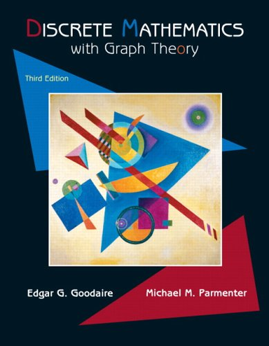 Price comparison product image Discrete Mathematics with Graph Theory, 3rd Edition