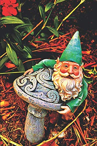 Garden Gnome Journal: Journal Notebook with blank lined pages for Gardeners Garden Gnome Lovers