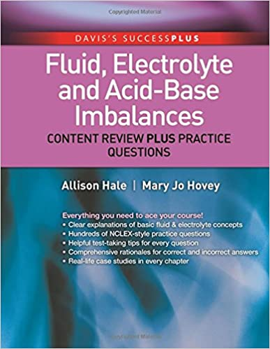 Fluid Electrolyte And Acid Base Imbalances Content Review Freebooks
