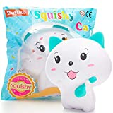 Squishies Cat Squishy Toys for Kids - Newest - Jumbo Squishies Slow Rising - Animal Squishys Stress Relief Toys - Super Soft and Slow - Kawaii Squishies - Fruit Scented Toy - Party Favors for Kids