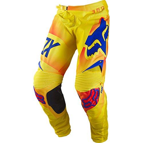 Fox Racing 360 Flight Men's MotoX Motorcycle Pants - Orange/Size 30
