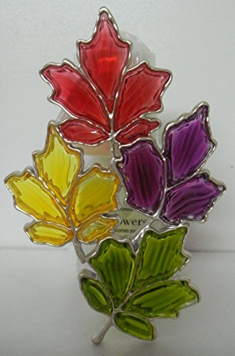 Bath & Body Works STAINED GLASS LEAVES WALLFLOWER DIFFUSER P