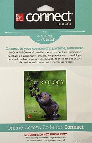 Biology:Essentials Connect W/Learnsmart