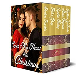 Open My Heart This Christmas: Five contemporary Christmas romances by [Franklin, Darlene, Gray, Helen, Hickey, Cynthia, Higman, Anita, Y'Barbo, Kathleen]