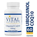 Vital Nutrients - Ubiquinol CoQ10 100 mg - Activated Form of Coenzyme Q10