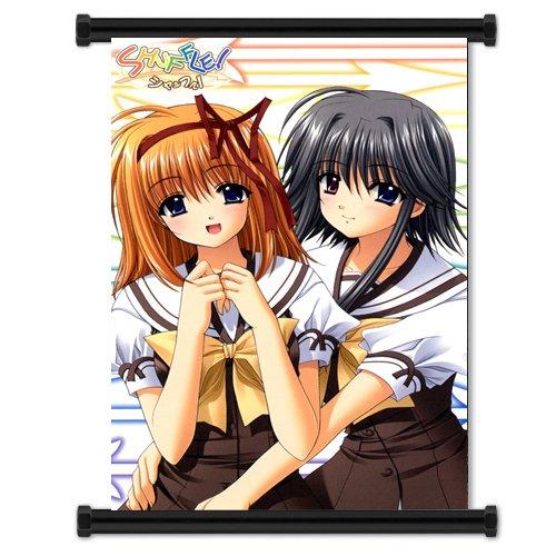 "Shuffle Anime Fabric Wall Scroll Poster (16"" x 23"") Inches. [WP]-Shuffle-49"