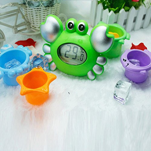 Price comparison product image Franterd,  Water Temperature Gauge,  Electronic Thermometer,  Baby Cartoon Newborn Bath Toy