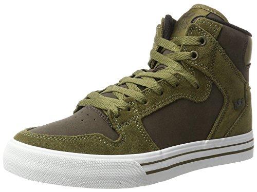white Vaider Grün Homme Demitasse Olive Sneakers Hohe Supra 0xqUF8Sw
